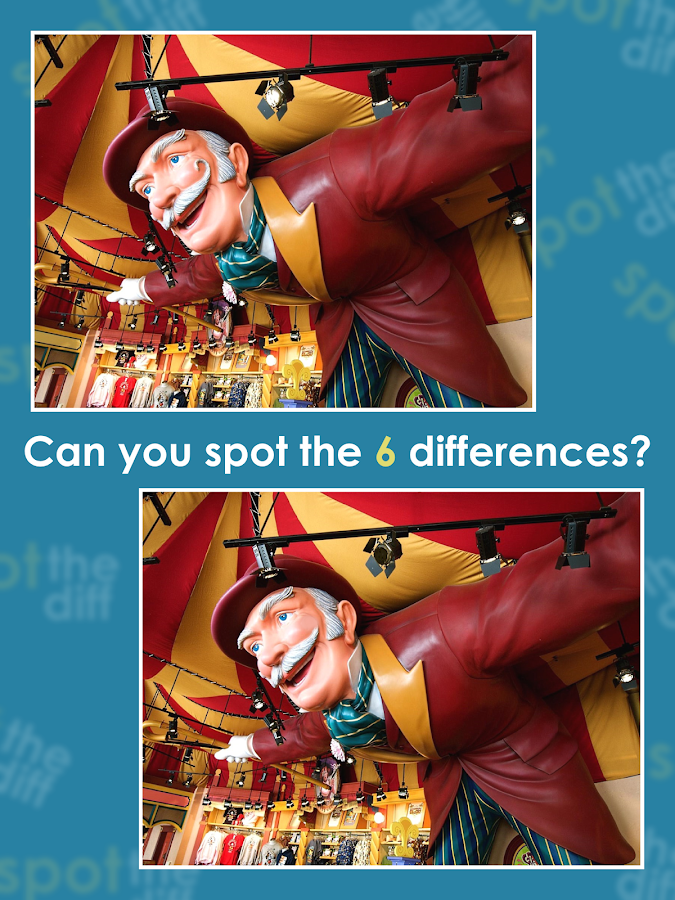 Spot The Diff ( free game )- screenshot