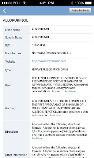 Pill Identifier and Drug list 4.2 screenshots 6