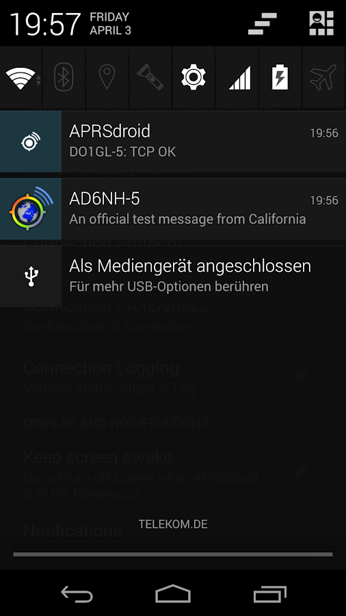 APRSdroid - APRS Client - screenshot