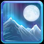 Snow Lights Winter Glow Theme Icon