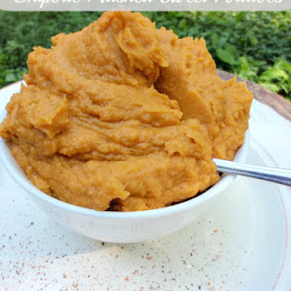 Chipotle Mashed Sweet Potatoes.