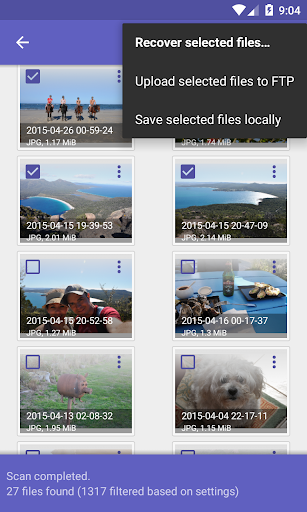DiskDigger photo recovery 1.0-2018-08-05 screenshots 3