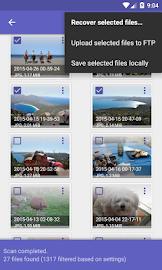 DiskDigger photo recovery Screenshot 3