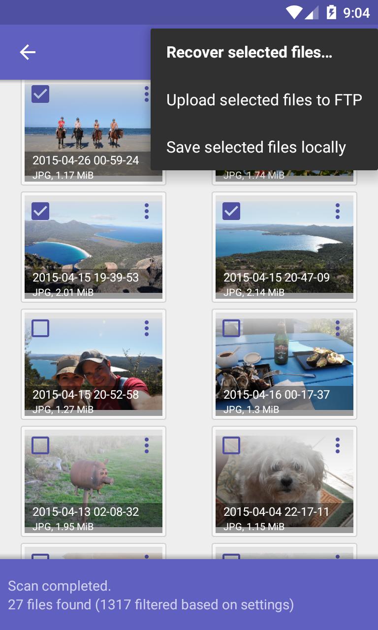 تطبيق رائع لإسترجاع جميع الصور المحذوفة من الهاتف نهائيا 2019