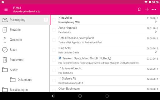 Telekom Mail screenshot 13