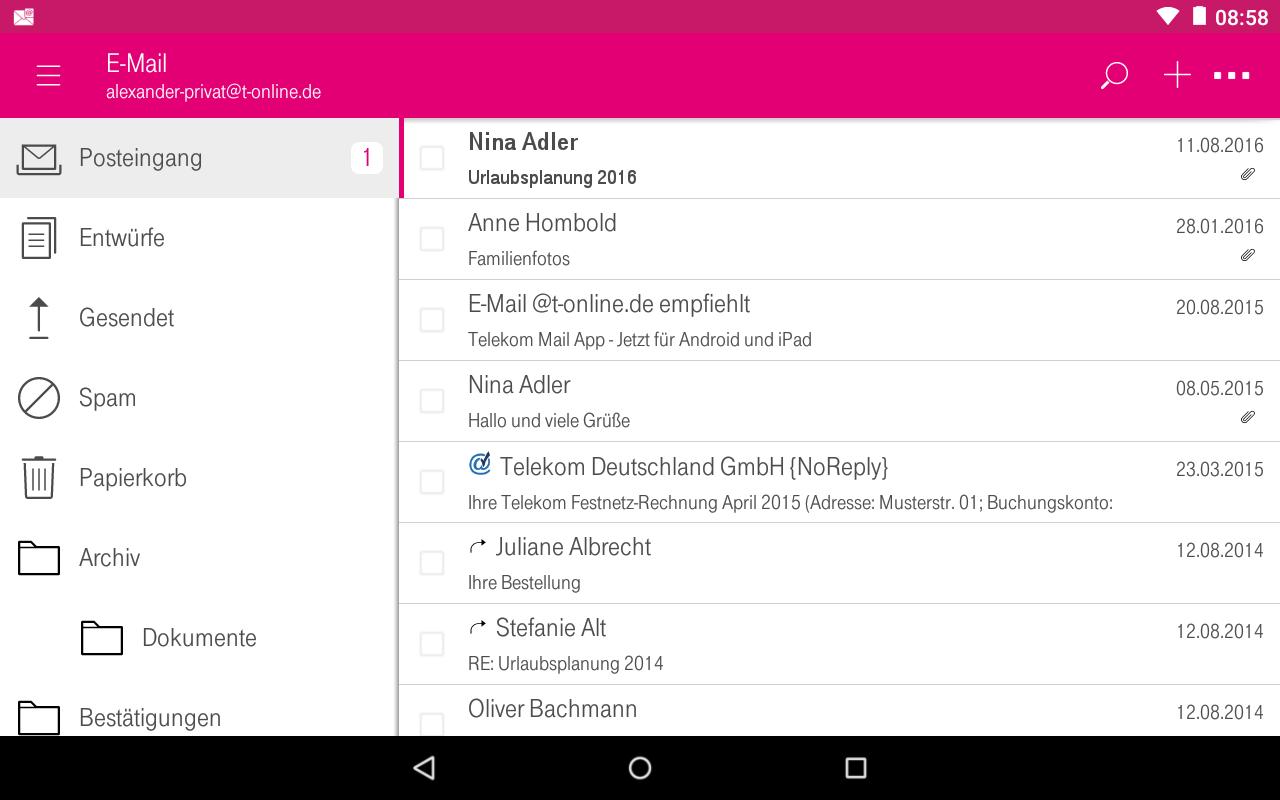 E.Mail Telekom