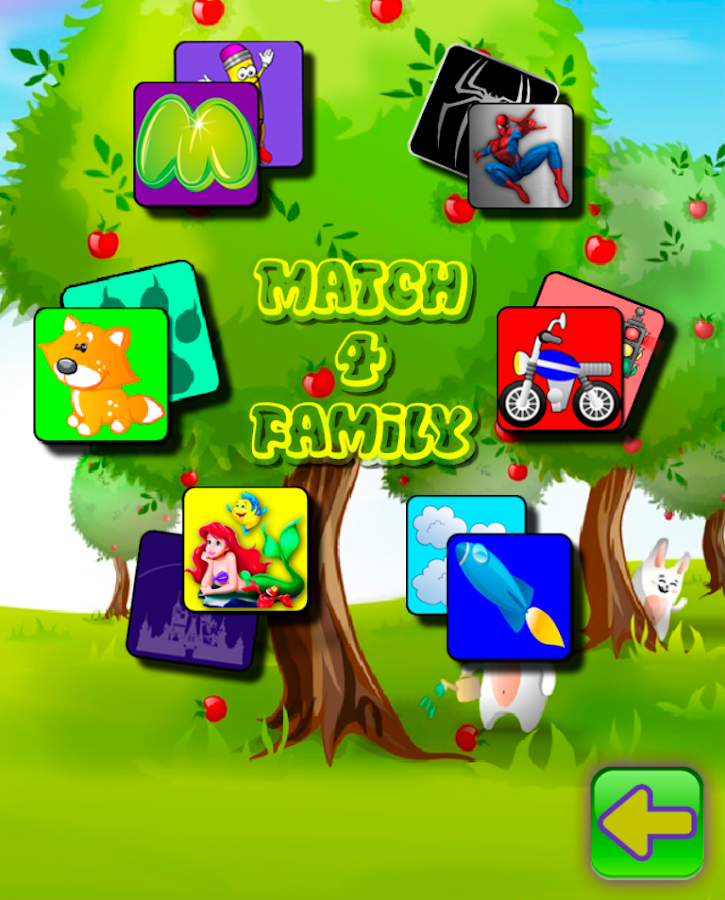 Memory Game Children Family- screenshot