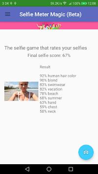 SelfieMeter Magic apk screenshot