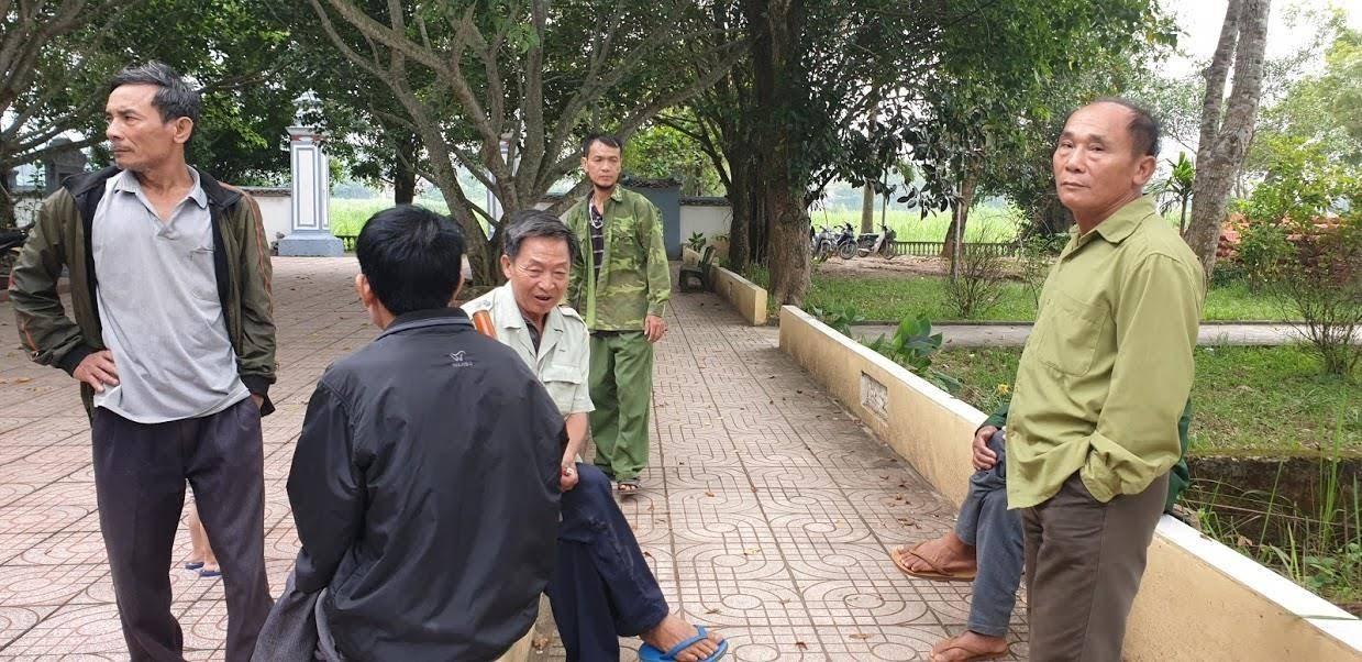 Người dân xã Thanh Yên hết sức bức xúc khi di tích bị xâm hại.
