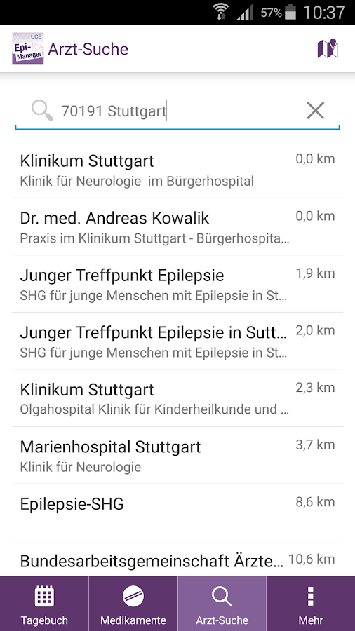 Epi-Manager – Screenshot
