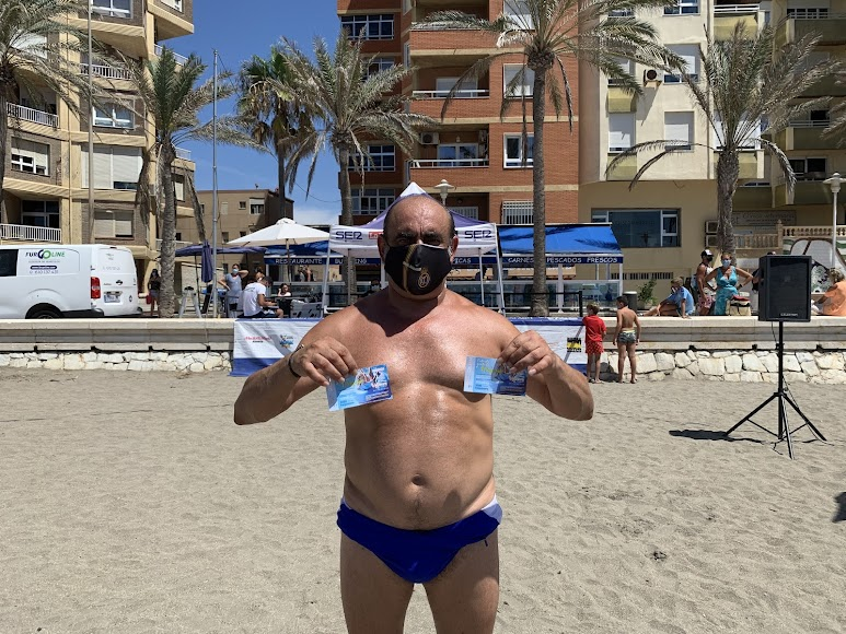 El cordobés Agustín podrá conocer un poco más Almería con estas dos entradas para el parque Aquavera.
