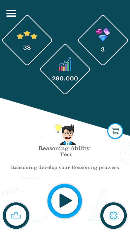 Reasoning Ability Test- screenshot