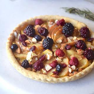 Gluten-free Apple Berry Pie.