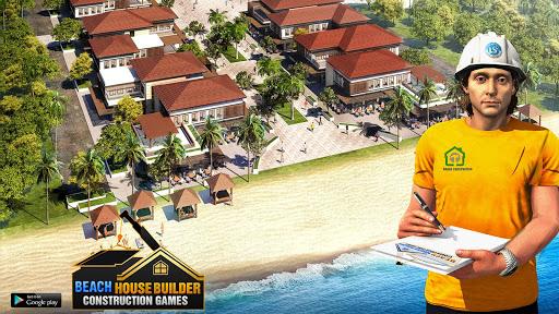 Beach House Builder Construction Games 2018 apkpoly screenshots 10