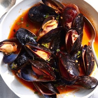 Mussels with White Wine.