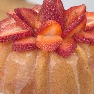 Strawberry Butter Cake.