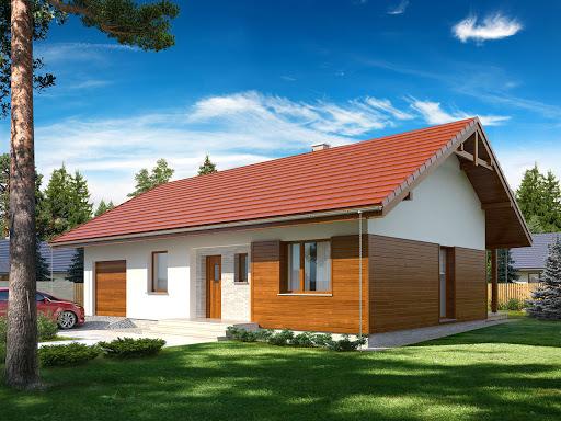 projekt Gaja 2 drewniana