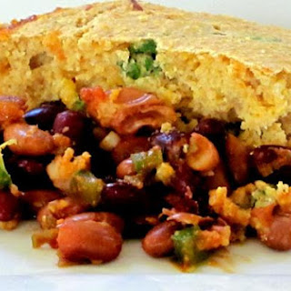 Spicy Two-Bean Tamale Pie