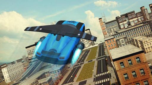 Free Flying Racing Car Driving 1.1 screenshots 2