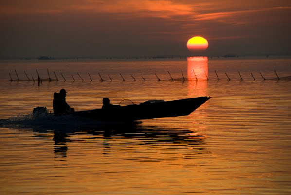Controluce al tramonto di flaviogallinaro
