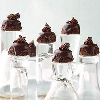 Chocolate-Rum Petits Fours.