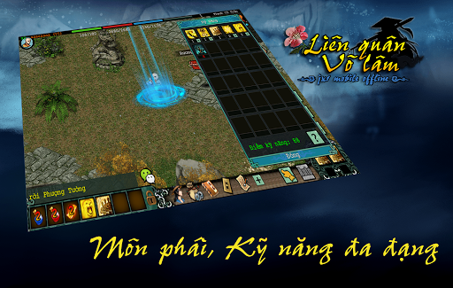 Liu00ean Quu00e2n Vu00f5 Lu00e2m - Mu1ed9ng Giang Hu1ed3 (Offline) 1.0.35 screenshots 2