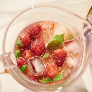 Strawberry-Basil Agua Fresca Recipe