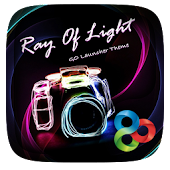 Ray of light GO Launcher Theme