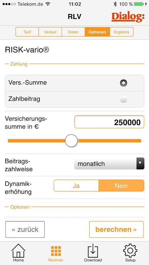 Berater-App Mobile- screenshot