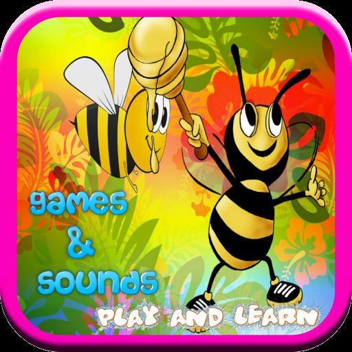 蜜蜂遊戲的孩子 教育 App LOGO-APP試玩