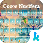 Palm Kika Emoji Keyboard Theme
