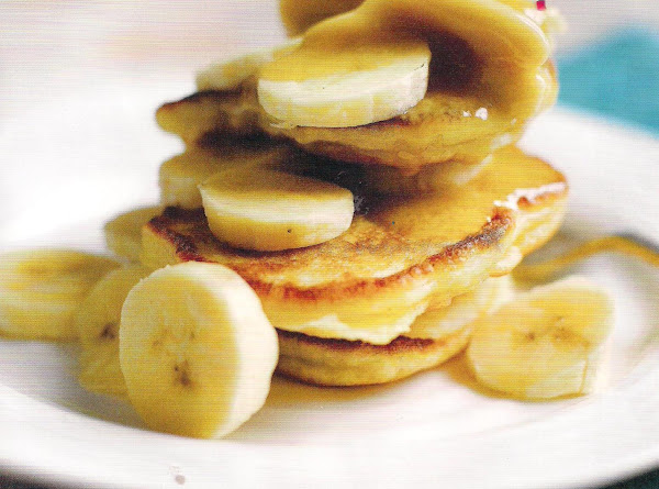 Banana Pancakes With Whipped Maple Butter Recipe