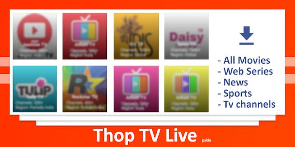 ThopTV Guide 2020 – Live TV Tricks 1