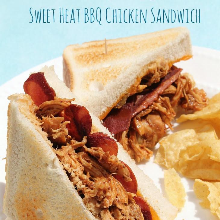Slow Cooker Sweet Heat BBQ Chicken Sandwiches Recipe