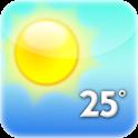 Exact thermometer icon