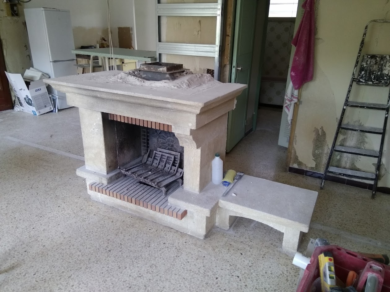Here It Is Fireplace Batch Box Conversion