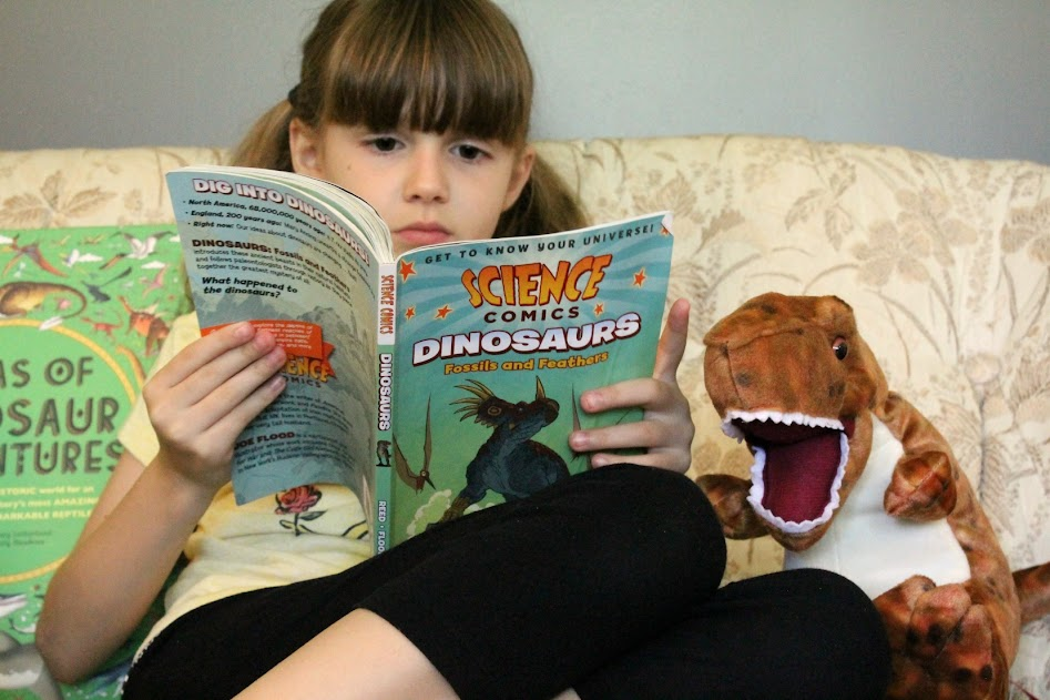 10 Dinosaur Books your kiddos will love! Our favorites include chapter books, fact books, cute stories & more.
