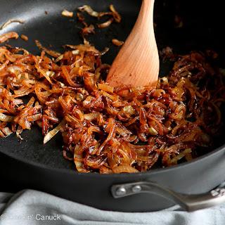 Caramelize Onions.