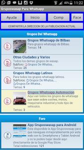 Grupos Wasap para whatsapp screenshot 0