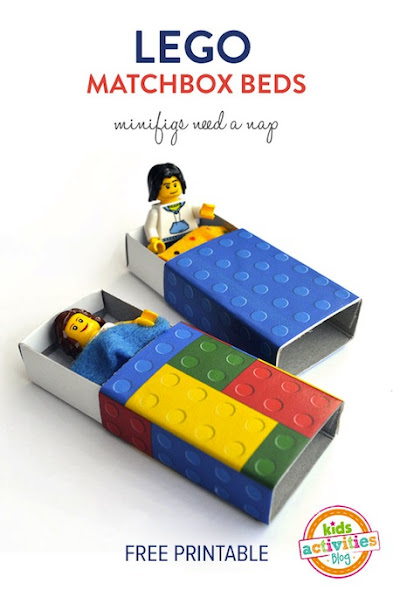 Lego Matchbox Beds by Kid's Activities Blog