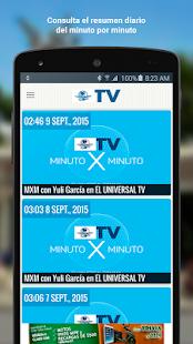 El Universal TV - náhled