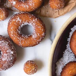 Old-Fashioned Cake Doughnuts.