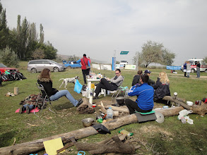 Photo: Лагерь в ожидании