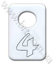 Photo: Номерок для гардероба из акрила. Молочный акрил, контурный надрез, затирка черной краской