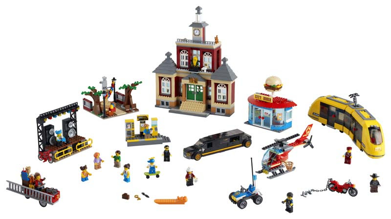 Contenido de Lego® 60271 Plaza Mayor