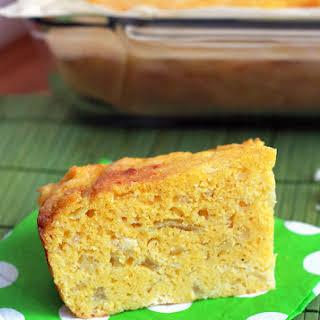 Sopa Paraguaya – Cheese and Onion Cornbread.