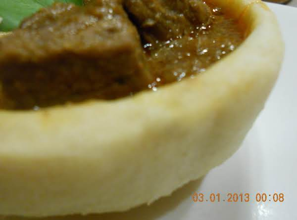 Bread Bowl/ Naan Bowl Recipe