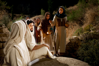 Photo: Jesus Is Laid in a Tomb. 05