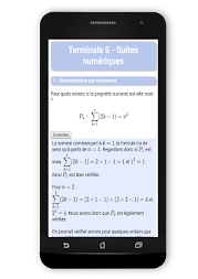Maths TS : Suites Pro APK screenshot thumbnail 10