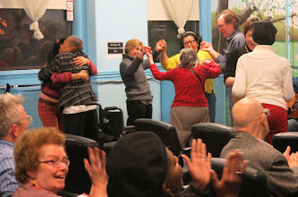 Photo: Music got people up on their feet.